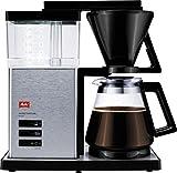 Melitta AromaSignature DeLuxe 100702, Filterkaffeemaschine mit Glaskanne, Heißbrüh-Verfahren,...
