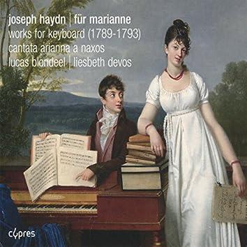 Haydn: Works for Keyboard, Arianna a Naxos