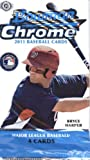 2011 Bowman Chrome Baseball Cards: Hobby Pack (4 Cards/Pack) (1 Random Pack) (Mike Trout Rookies?). rookie card picture