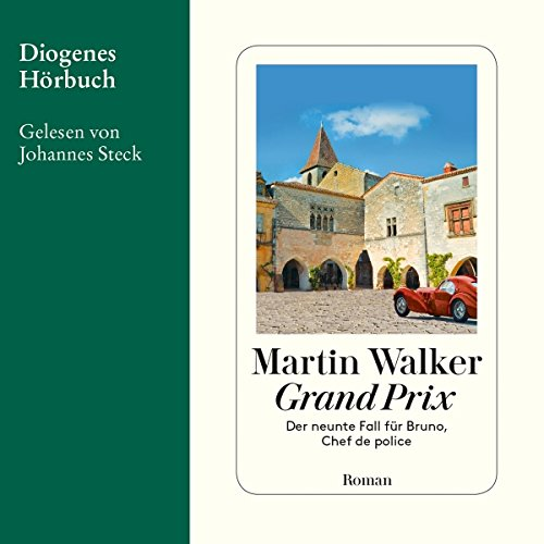 Grand Prix (Bruno Courrèges 9) audiobook cover art