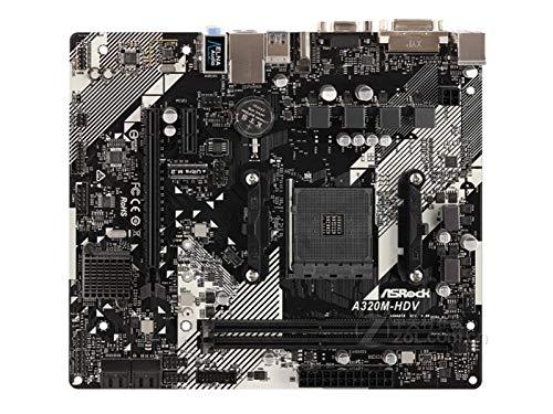 New Asrock A320m-HDV R4.0 Motopular De Escritorio Soporte De Juego AMD AM4 Drisktop Computer MainBoard
