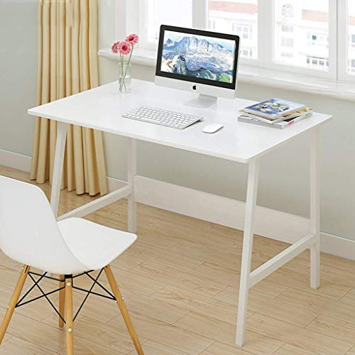 ZLYMYSimple Square Table Computer Desk/Computer Desk Table/Home Small Desk/Bedroom Study Desk/PC Desk Desk/Workstation/Home Office Game Game/Meeting Room Desk/Kitchen Dining Table