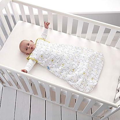 Grobag – Saco de dormir, diseño de elefante blanco Talla:18-36 Months
