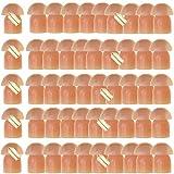 Almohadillas de Goma de Repuesto para Auriculares Motorola Kenwood Baofeng de 2 vías de Radio acústica, Kit de Audio de Walkie Talkie Earpiece de 50 Unidades, Ltsstoreuk