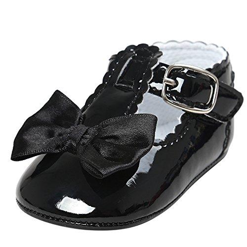 Trunlay Baby Schuhe Mädchen Junge Bowknot Prinzessin Beiläufig Schuhe Weiche Lauflernschuhe rutschfest Krabbelschuhe Turnschuhe Sneaker Neugeborene Schuhe 0-18 Monate