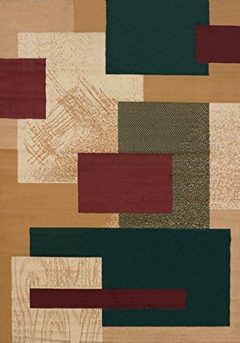 """Tejedores Unidos de América Soho Manhattan Alfombra colección, Polipropileno, Berber, 1'10"""" x 3'"""