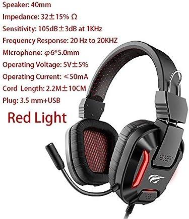 Wired Gaming Headset PC USB 3.5mm Cuffie PS4 Surround Sound e Microfono HD Gaming Overear Laptop Tablet Gamer (Color : 2168) - Trova i prezzi più bassi