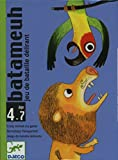 Djeco, DJ05114 Batameuh Jeu De Bataille Delirant multicolore