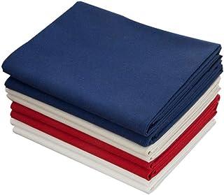 Exceart 4 Stück Kreuzstich Stoff Leinen Stoff Leinen Handarbeit Stoff Stoff für Kleidungsstücke Handwerk Und Tischdecke