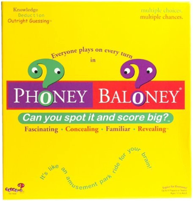 Phoney Baloney Trivia Trivia Trivia Game by ThingO a82983