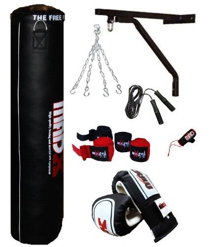 MADX - Juego de saco de boxeo con guantes y accesorios (7 un