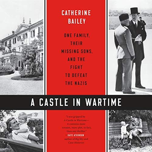 A Castle in Wartime audiobook cover art