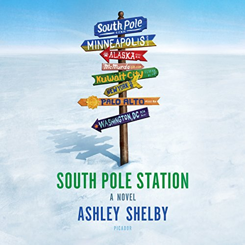 South Pole Station audiobook cover art