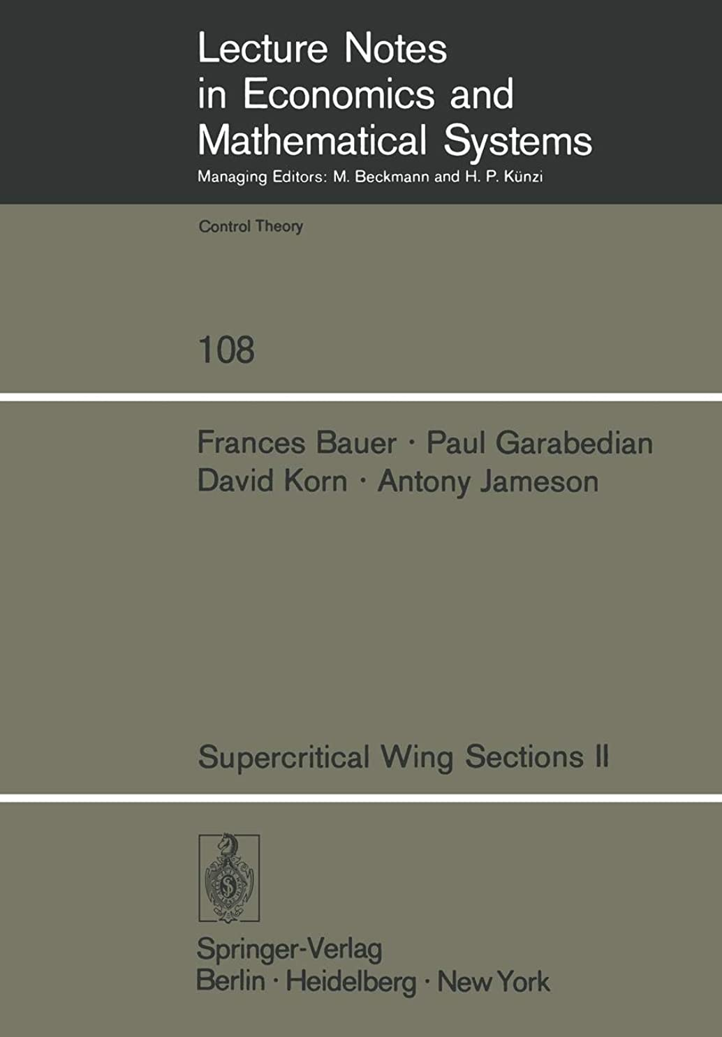 見える友だち別々にSupercritical Wing Sections II: A Handbook (Lecture Notes in Economics and Mathematical Systems)