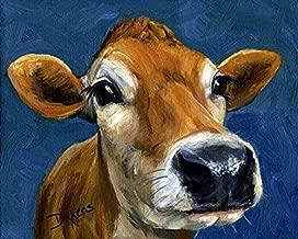 Cow Art Print,