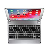 Brydge 10.5 Keyboard compatible with iPad Air (2019) and iPad Pro 10.5-inch | Aluminum Bluetooth 4.2 Keyboard with Backlit Keys (Silver)