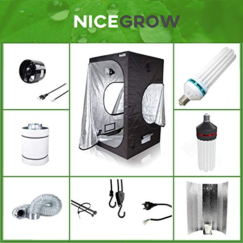 Growset 60 Dark Box ESL 150W Wuchs Und Blüte Komplettset Set Grow ESL