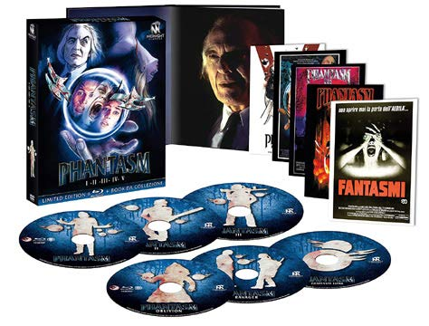 Phantasm Collection - 6-Disc Box Set ( Phantasm / Phantasm II / Phantasm III: Lord of the Dead / Phantasm IV: Oblivion ) [ Italienische Import ] (Blu-Ray)