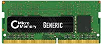 MicroMemory 16GB DDR4 2133MHz PC4-17000 1x16GB so-dimm メモリモジュール、A8650534 (1x16GB so-dimmメモリモジュール)