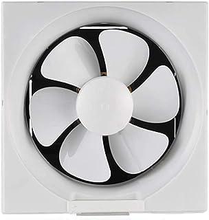 Equipo de ventilación hidropónica Ventilador de techo Ventilación Extractor baño silencioso ventilador / cocina potente ventilador / Wall Tipo de obturador de ventilación del ventilador / 12 pulgadas