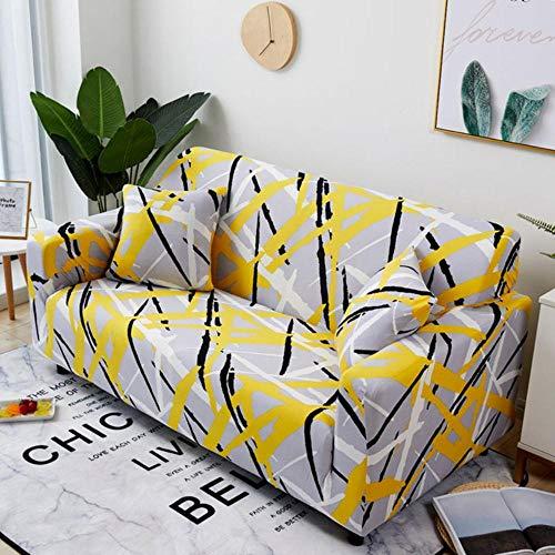 Boner Hoes Stretch antislip Vier Seizoens Sofa Covers elastische volledige Couch Cover sofa Handdoek Enkele Twee Drie Vier Zits, 2, Kussensloop-2 stks