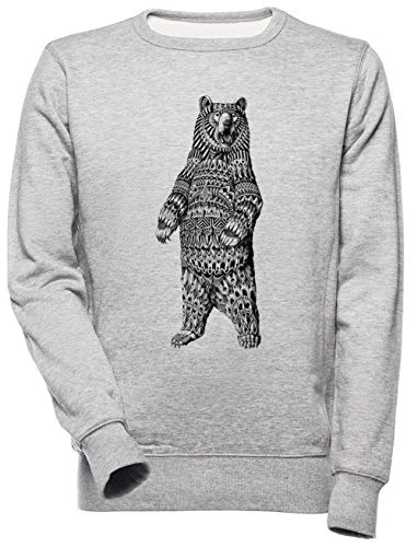 Overladen Grizzly Beer Unisex Mannen Dames Trui Sweatshirt Unisex Men's Women's Jumper