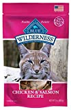 Blue Buffalo Wilderness Chicken & Salmon Grain Free Cat Treats 2 oz