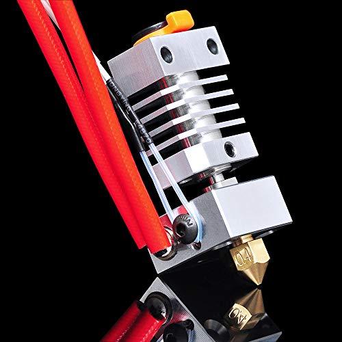 IU3D Upgrade Ender 3 All Metal Hotend 24V 40W for Ender 3 / Ender 3 Pro/Ender 3 V2/Ender 5. (24V Brass Nozzle Kit)