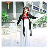 YUNGYE Disfraz antiguo hanfu femenino hada falda de pecho completo mejorado Han Element fresco y elegante diario primavera y verano (color, tamaño: M)