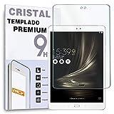 REY Protector de Pantalla para ASUS ZENPAD 3s 10 Z500KL 9.7', Cristal Vidrio Templado Premium Táblet