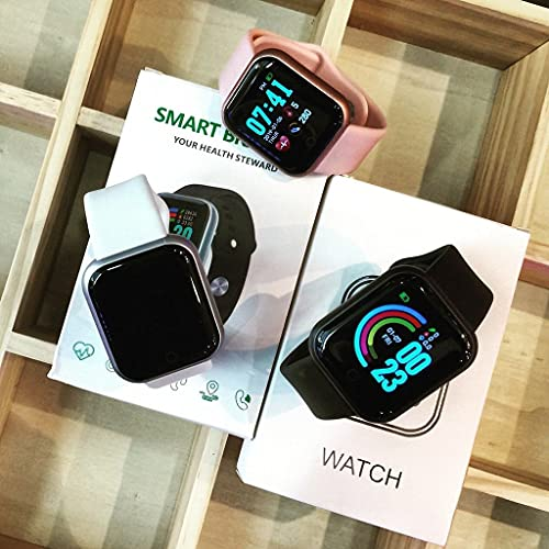 Relógio Inteligente D20 SmartWatch Y68 Preto