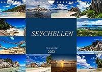 Trauminseln Seychellen (Wandkalender 2022 DIN A4 quer): Paradies auf Erden - Seychellen (Monatskalender, 14 Seiten )