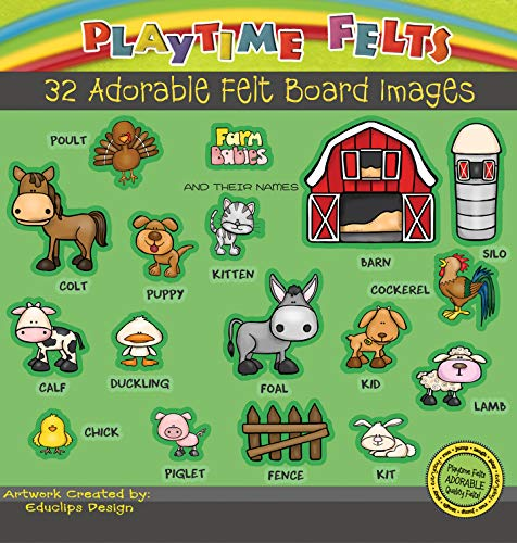 Top 10 best selling list for farm animals and their babies names