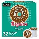 The Original Donut Shop Regular, Single-Serve Keurig K-Cup Pods, Medium Roast Coffee, 32 Count