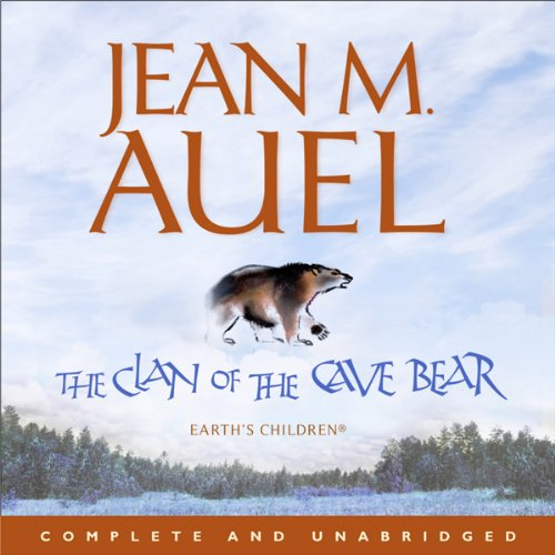 The Clan of the Cave Bear audiobook cover art