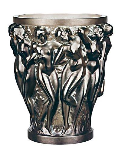 Lalique. FQ0 Nuovo Vase Bacchantes Bronze PM Small h 14,6 d 12,3 cm …
