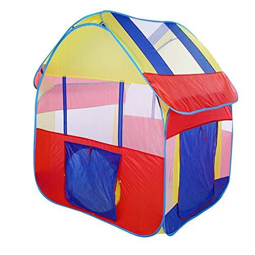 GOTOTOP Tienda de Juegos para niños, portátil Plegable Pop Up Play House Game Playhouse Interior Kit de Supervivencia al Aire Libre Juguete para niños Edades 3+