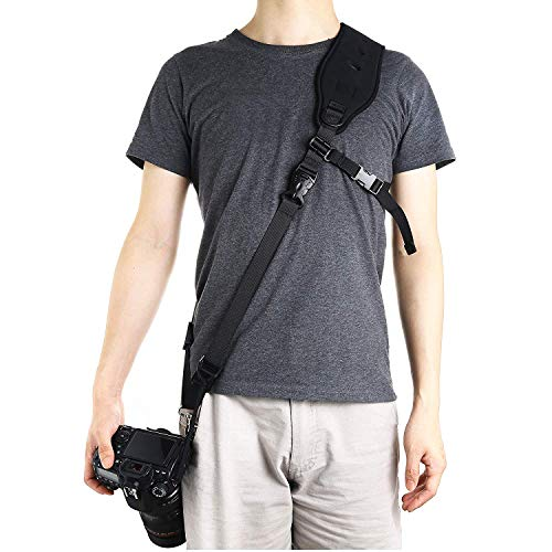 Ruittos Camera Strap, RT-CS06 Quick Release Camera Shoulder Neck Strap for Compact Camera, Binoculars, Bags, Mirrorless,