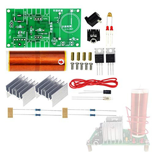 Fansport Plasma Lautsprecher Kit Mini FunküBertragungs Musikspiel Elektronik Kit