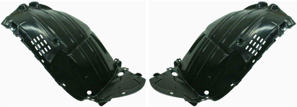 Parts N Go 2003-2005 FX35 FX45 Cheap sale Fender Driver Front Liner Easy-to-use Pair