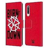 Head Case Designs sous Licence Officielle WWE Seth Rollins Burn It Down Superstars 8 Coque en Cuir...