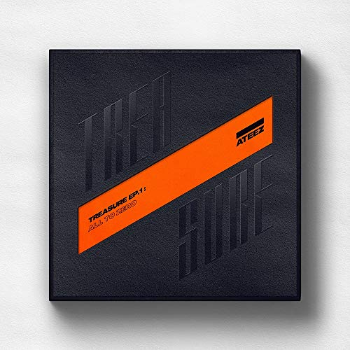 Stone Music Entertainment ATEEZ - Treasure EP.1 : All to Zero CD+Booklet+3Photocards+On Pack Poster+Extra Photocards Set