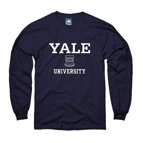 1c6c36ad Ivysport Cotton Long Sleeve T-Shirt with Crest Logo