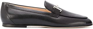 Luxury Fashion | Tod's Women XXW79A0Z370TRP9999 Black Leather Loafers | Spring-summer 20