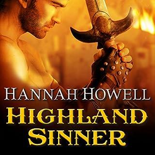 Highland Sinner audiobook cover art