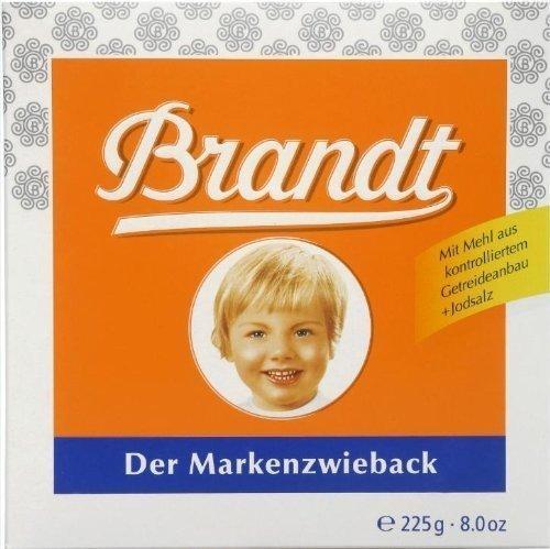 Brandt Der Markenzwieback ( Rusk Bread ) - 225 G by Brandt