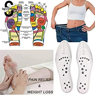 2 Stücke Akupressur Magnetische Massage Gewichtsverlust Therapie Abnehmen Einleg