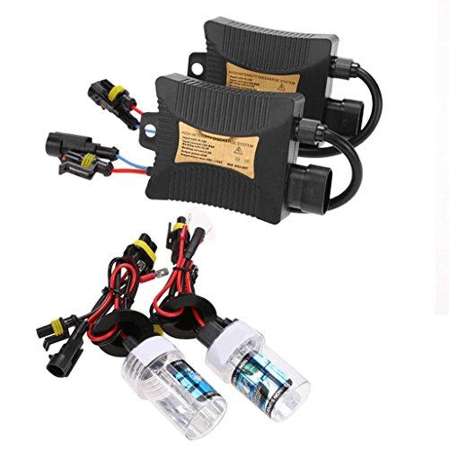 55W Mince HID Xénon Conversion Phare Kit de Ampoule H7 Avec Ballasts 6000K/8000K/10000K - 8000K