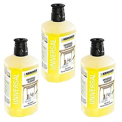 Karcher Universal Car Garden Patio Cleaner Pressure Washer Detergent K2 - K7 1 Litre x 3 from Karcher