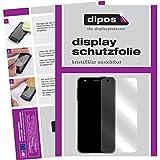 dipos I 6X Schutzfolie klar kompatibel mit LG X Mach Folie Bildschirmschutzfolie